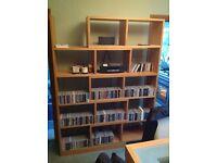 Large bookcase / shelving