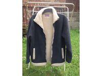 Jacket grey fleece