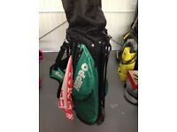 Hippo adult golf clubs & bag
