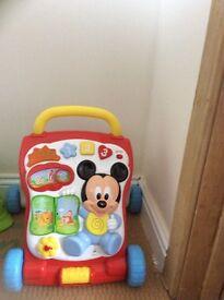 Micky mouse activity walker