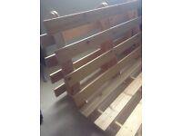 Wooden futon frame sofa bed