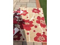 Rug and scatter cushions