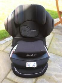 Cybex Juno Front Facing Black Car Seat - Isofix Compatible - 9-18 Kg