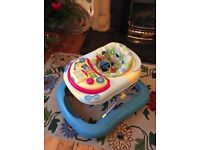 Chicco baby walker good condition