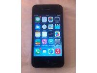Unlocked iPhone 4, Black, 8 Gb HDD