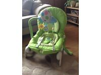 Chicco baby bouncer £25