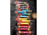 Canon pixma refill cartridges assorted colours mg 515g/mg5250/mg6150/mg8150/ip4850