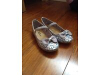 Girls party shoes - Size 9 *Nearly New!*