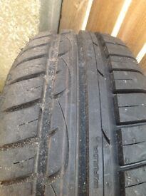 2 continental Eco contact tyres 1 fulda tyre as new