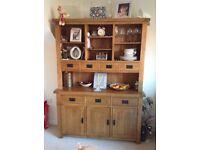 Solid oak dresser Oak furniture land