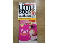 Ladies exercise books