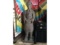 Terracotta warrior statue about 2 and half foot/ 3 foot tall