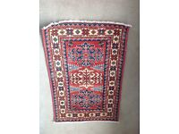 2 KAZAK and 1 BOKHARA rugs (unused) cost £400