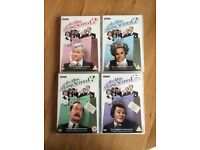 ARE YOU BEING SERVED? - COMPLETE FIRST, SECOND, THIRD & FOURTH SERIES DVDs