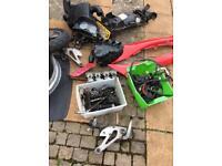 Parts for Yamaha diversion 600cc