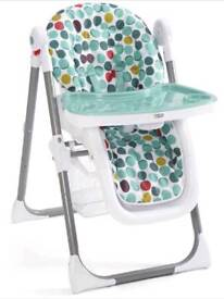 *Now Sold* Mamas and Papas Confetti Spot High Chair