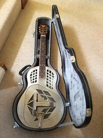 Hot rod Steel Resonator Guitar for sale