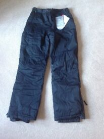 Ladies snow trousers size 12 never been worn