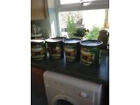 Cuprinol Fence Care - Variety of colours 5 & 6 litre tins £5 each - unopened