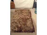 Very soft brown rug