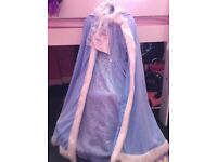 Girl fancy dress 7-8 like new