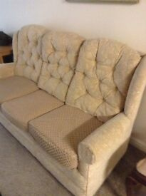 Three sweater settee for sale.