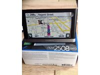 GARMIN NUVI 2580 LMT-D SATNAV IN BOX LIKE NEW WITH ALL LEADS AND INSTRUCTIONS