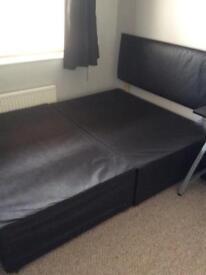 Double bed base