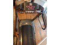 Treadmill running machine Horizon Quantum 2 professional very sturdy folds