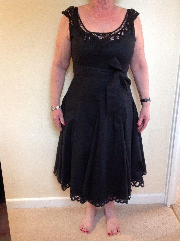 Phase Eight Black Dress Size 14 In Newbury Berkshire Gumtree