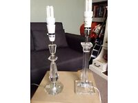£6 for the pair! Table lamps x2