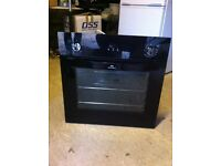 New World Built In Electric Single Oven 60cm Black