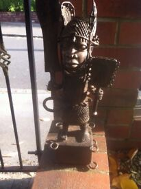 A large Benin Bronze Figure