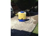 GARDEN SPRAYER - COOPER PEGLER DIAPHRAGM MANUAL KNAPSACK GARDEN SPRAYER.