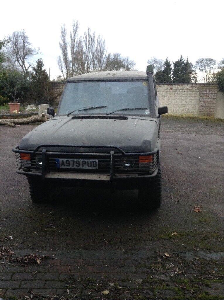Range Rover v8 offroader beast! Clean rust free