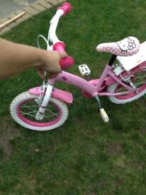 Hello kitty bike Age 3-5