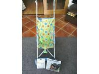 Light weight buggy, sun shade & insect net
