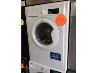 INDESIT IWE91281 9kg 1200spin White Washing Machine with 4 MONTHS WARRANTY