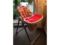 Cosatto child's high chair