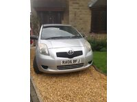 Toyota Yaris Silver 5 door. 2006 SORRY I'M NOW SOLD