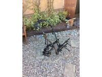 Cycle rack high mount type (unrestricted number plate)