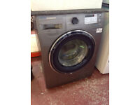 Samsung WW5000 Ecobubble WW80J5555FC 8Kg Washing Machine - Graphite #147553