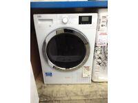 Beko 8kg heat pump dryer. RRP £499. £340. 12 month Gtee