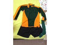 Poole Grammar School PE kit and jumper