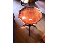 Wine table , nice little wine table in good condition ,( 2 available ) feel free to view H 21 in