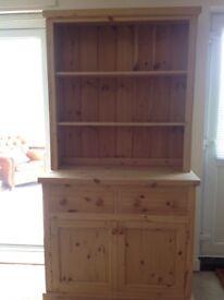 Pine Welsh dresser vgc, good quality item