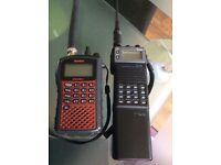 Uniden bearcat scanners plus icom and realistic base scanner