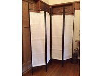 Folding Room Divider /Screen/privacy/decorative