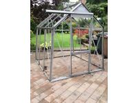 6'x6' Aluminium greenhouse frame