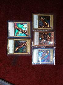 43 Card Exodia deck + 3 extra cards yugioh
